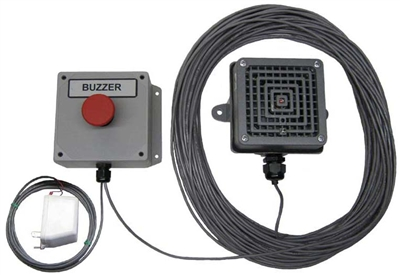 Push Button Employee Break Buzzer System