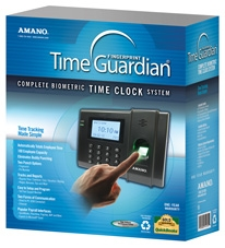 Amano Time Guardian Fpt 80 Is An Employee Time Tracking System